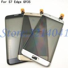 """100% נבדק מגע מסך 5.5 """"עבור Samsung Galaxy S7 קצה G9350 G935 G935F מגע מסך Digitizer חיישן תיקון חלקים"""