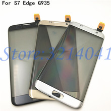 Original 5.5 inches Touch screen For Samsung Galaxy S7 Edge G9350 G935 G935F Touch Screen Digitizer Sensor With Logo цена
