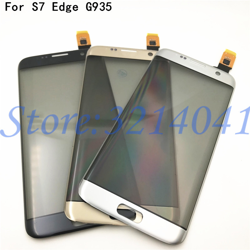 Original 5,5 zoll <font><b>Touch</b></font> <font><b>screen</b></font> Für Samsung Galaxy <font><b>S7</b></font> Rand G9350 G935 G935F Touchscreen Digitizer Sensor Mit Logo image