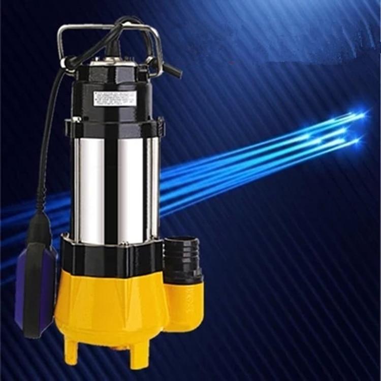 submersible sewage pump high capacity non clog sewage