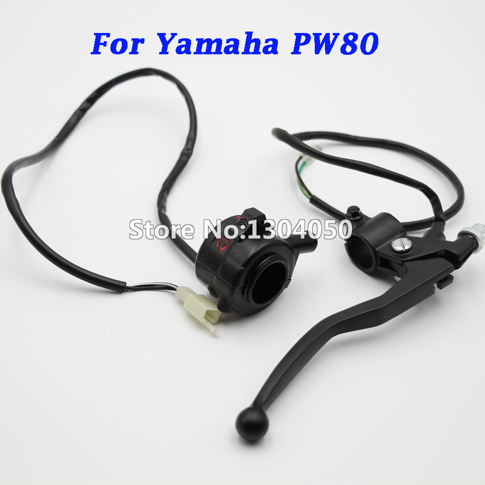 NEW KILL HANDLE SWITCH HOUSING THROTTLE + Right Brake Lever Bike For PY80 PW80 FREE SHIPPING