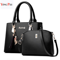 Женская сумка модная повседневная содержит два пакета роскошная дизайнерская сумка сумки на плечо новые сумки для женщин 2019 композитная су...