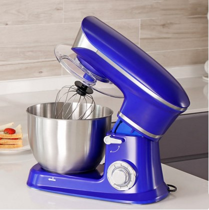 1300W Bread Dough Mixer Eggs Blender 6.5L Kitchen Stand Food Milkshake/Cake Mixer Kneading Machine Dough Maker meat grinder