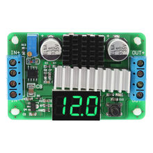 Digital DC-DC 3.5-30V 100W Boost Module Step-up Converter Power Supply Module LED Voltmeter Display(China)