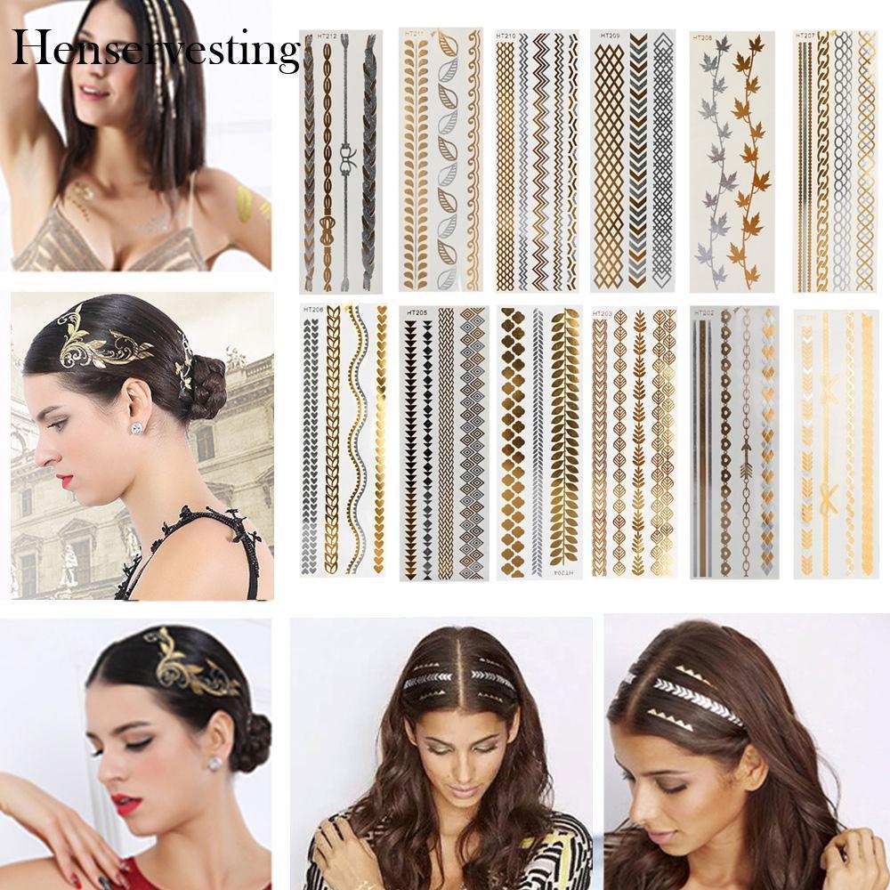 Tattoo Fashion Jewelry Hair Styling