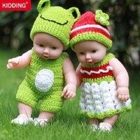 SCHERZANDO MARCA 30 cm Reborn Baby Doll Vinile Morbido Silicone Realistiche Neonati Alive Giocattoli Per Bambini Ragazze di Compleanno Regalo di Chirstmas KF097
