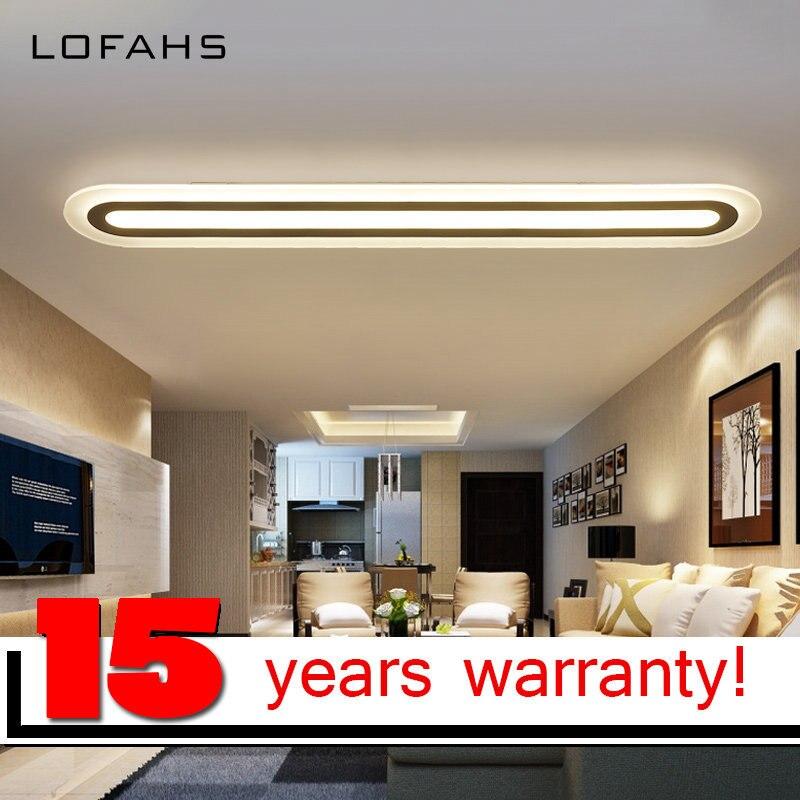 LOFAHS LED Chandelier Moderna Plexigls Cocina Iluminacin del Hogar