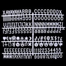 Nnrts ceartive персонажи для фетровой доски с буквами 340 шт