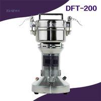 DFT-200 Elettrico Smerigliatrice A Base di Erbe Medicina In Polvere Domestica Portatile 200g 220 v/110 v 400 W 30-200 Mesh 25000r/Min Vendita Calda