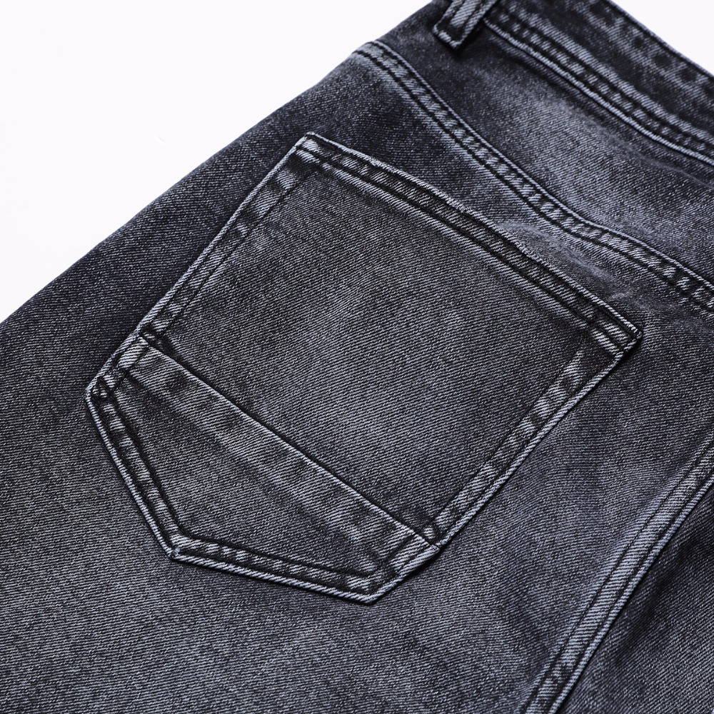 Image 5 - SIMWOOD New Arrive 2019 autumn Jeans Men Fashion Vintage Slim Fit Casual Brand Denim Trousers Plus Size Free Shipping 180315-in Jeans from Men's Clothing