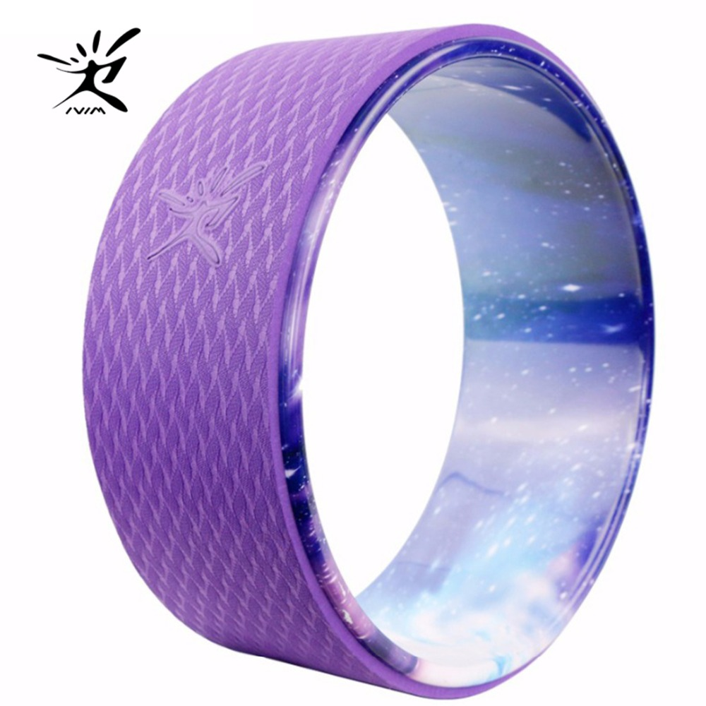 New Yoga Circle Yoga Wheel ABS Pilates Magic Circle Ring Gym Workout Back Training Tool Home