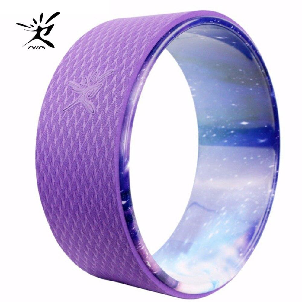 самобытный колесо йоги колесо для йоги Круг ABS Yoga Колеса TPE Колесо Дхармы Yoga Создает Идеальный Ролик Для Растяжения Повышение Гибкости и Про...