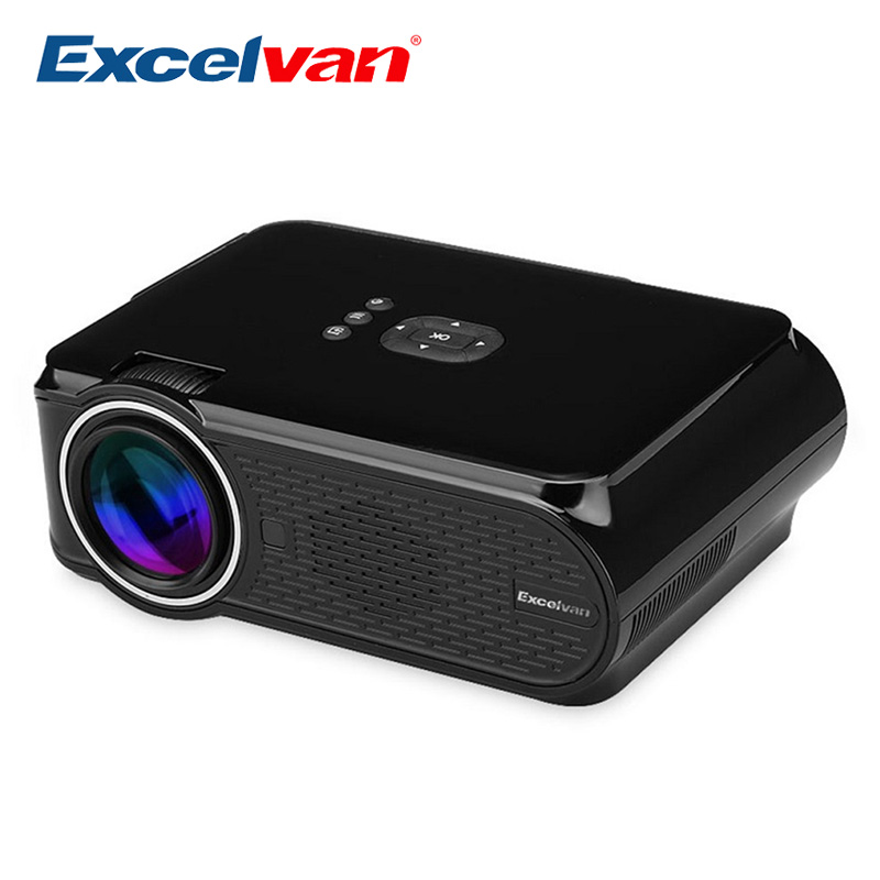 Buy excelvan ehd02 portable mini led for Top rated pocket projectors