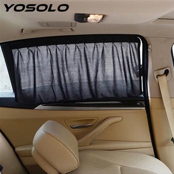 yosolo auto gordijn auto styling voor zijruit zonnebrandcrme cover auto zonnescherm interieur accessoires auto gordijnen