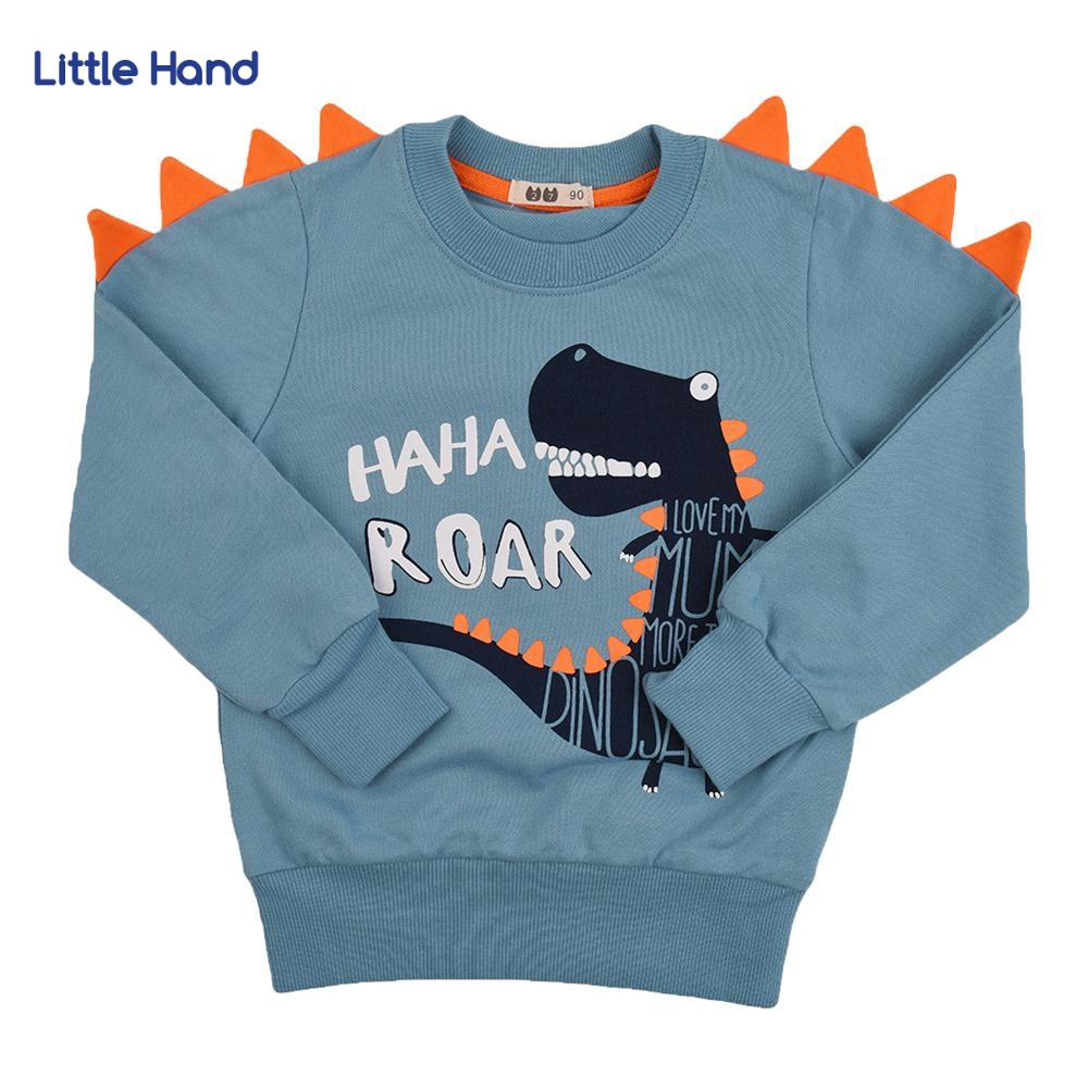 Children Clothes Kids Boys Girls T Shirts Casual Long Sleeve Kids Hoodies Tops Costumes Dinosaur Printed Children for 2-10 Ages