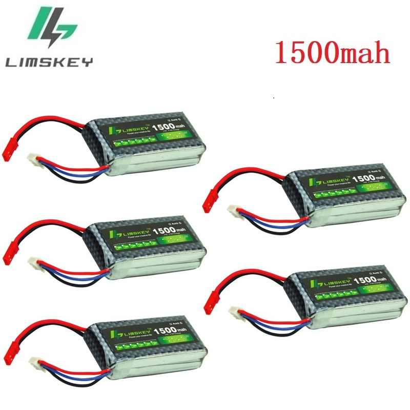 7.4V lipo Batteries For RC Halicopter Airplanes 2s 7.4v 1500mAh Lithium battery 1500ma 7.4v RC Batterys 2s battery 1pcs to 10pcs