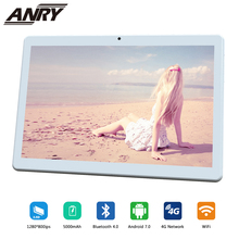 ANRY 10.1 inch 4G LTE Phablet MTK 6737 Octa Core Android 7.0 Phone Call Tablets PC 1280*800 FHD IPS 4GB RAM 64GB ROM GPS цены онлайн