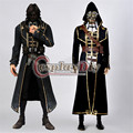 Dishonored Corvo Attano Cosplay Costume Adult Men's Carnival Party Outfit Version 01 Custom Made D0713