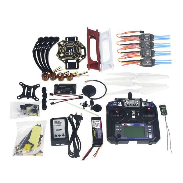 Volledige Set RC Drone Quadrocopter 4-axis Vliegtuigen Kit F450-V2 Frame GPS APM2.8 Vlucht Controle Camera Gimbal PTZ F02192-X
