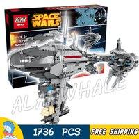 1736pcs Space Wars Ships MOC 05083 Nebulon B Class Escort Medical Frigate Building Blocks Bricks Gifts