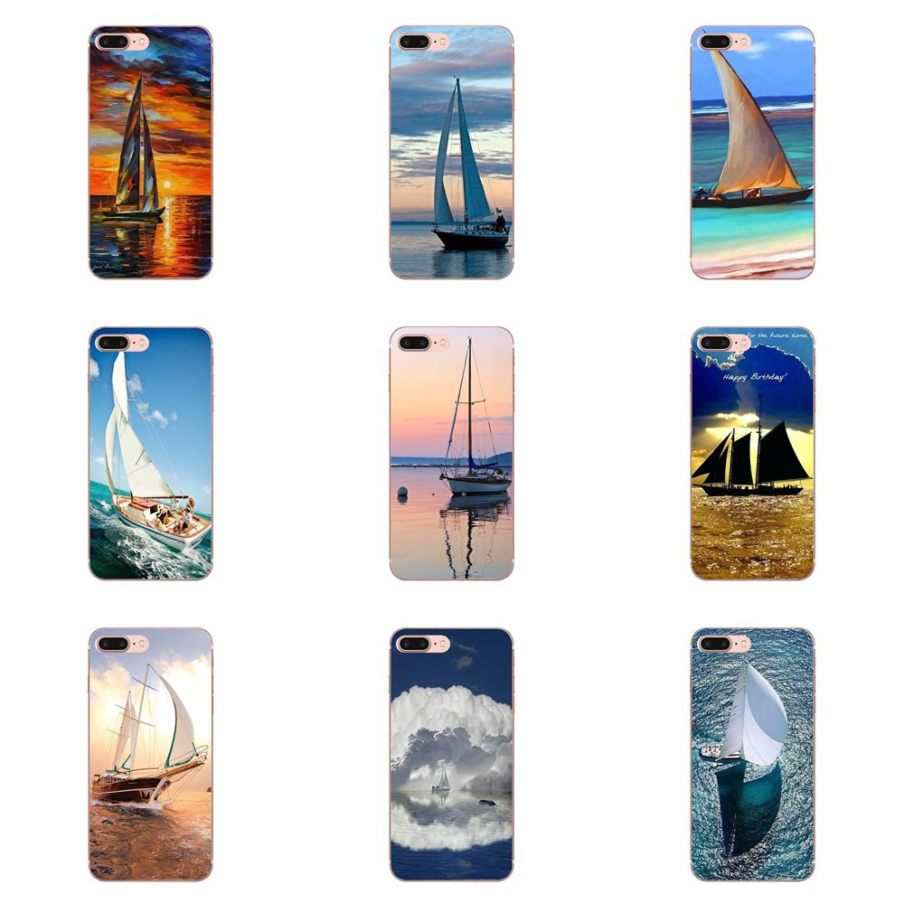 Super Mond Segel Meer Ozean Weiche Schutz Phone <font><b>Cases</b></font> Für Apple iPhone 4 4 S 5 5C 5 S SE 6 6 S 7 <font><b>8</b></font> Plus X XS Max XR image