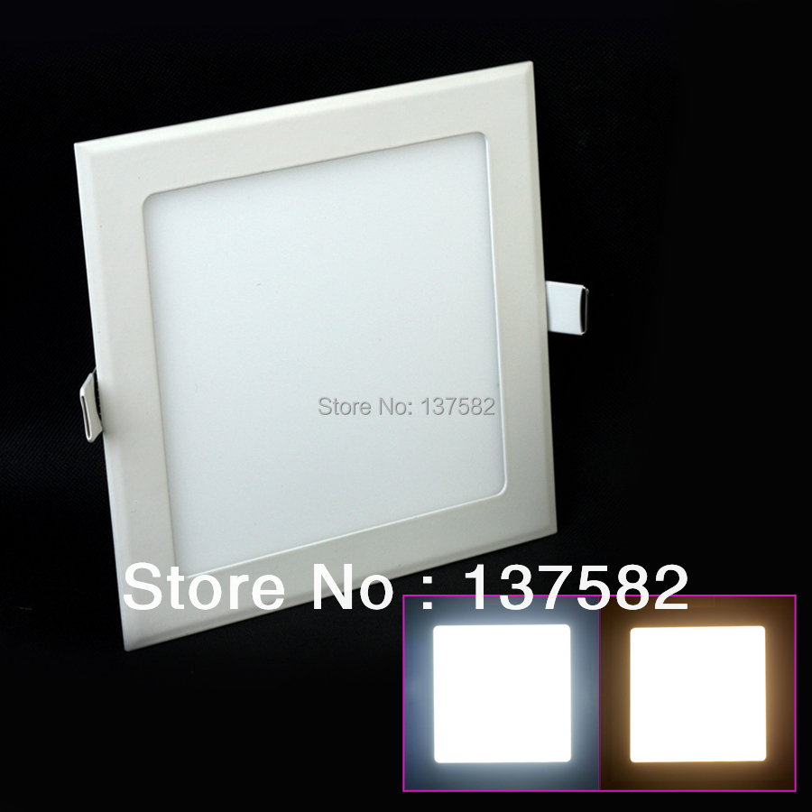 10pcs 6w 9w 16w Acrylic Led Panel Downlight 3 Model Square Panel Light Warm Cold White Blue Ceiling Recessed Lamp Indoor Light Downlights Ceiling Lights & Fans