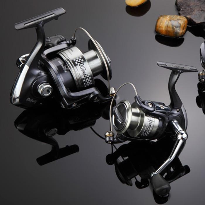 Haibo salvaje Lobo 20/30/40/50/80--3 + 1bb spinning Pesca Reel ...