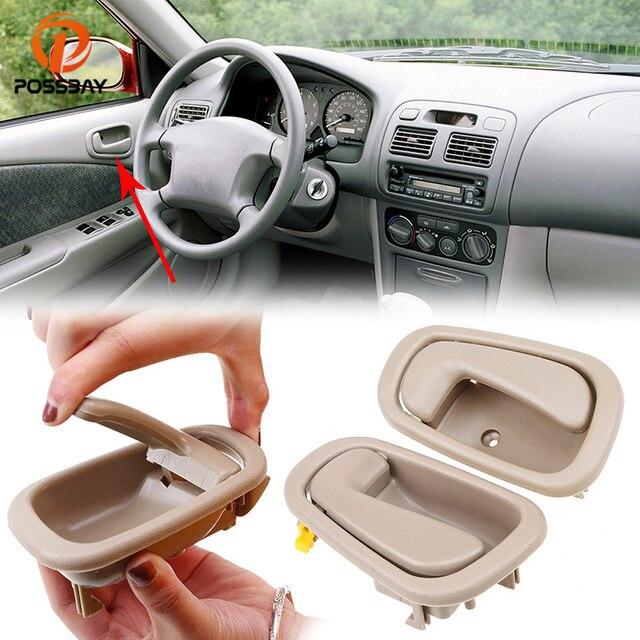 Possbay Front Rear Left Right Side Inside Door Handle For Toyota