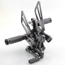 ЧПУ, титановый Алюминий регулируемая коробка передач для ухода за кожей сзади подножки Kawasaki Ninja ZX10R ZX-10R 2011 2013