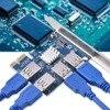 Add On Card PCI E 1 To 4 PCI Express 16X Slots Riser Card PCI E