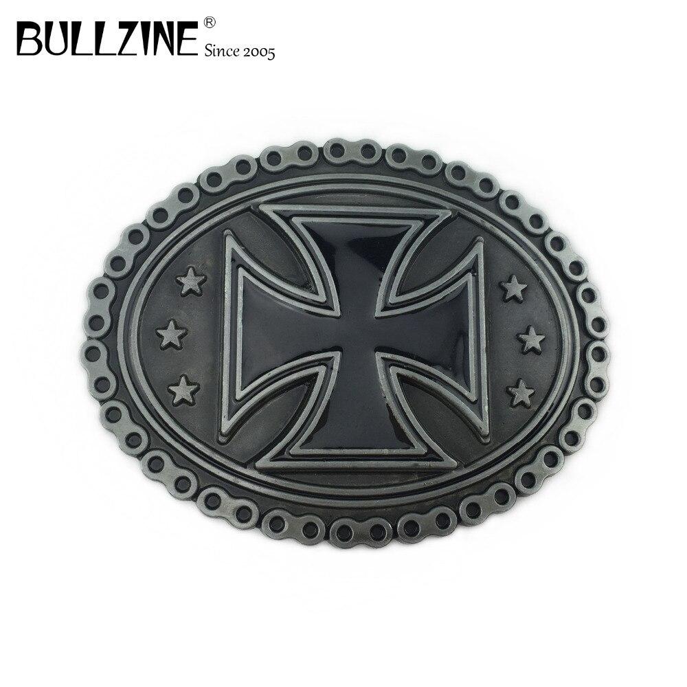 Bullzine Black Cross Biker