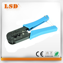 LS-568 RJ11 de red RJ45 herramienta que prensa herramienta que prensa modular profesional Herramientas de Engaste de Cable Utp