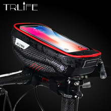 MTB  Bicycle Bags Rainproof Waterproof Mtb Front Bag Mobile Phone Case Top Tube Cycling Bike Accessories