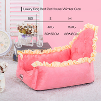 Dog Beds For Large Dogs Dog Bed Pet House Luxury Cute Princess Lace Puppy Sofa Bed Kennel Mat Pet Supplies Outdoor ATB 262