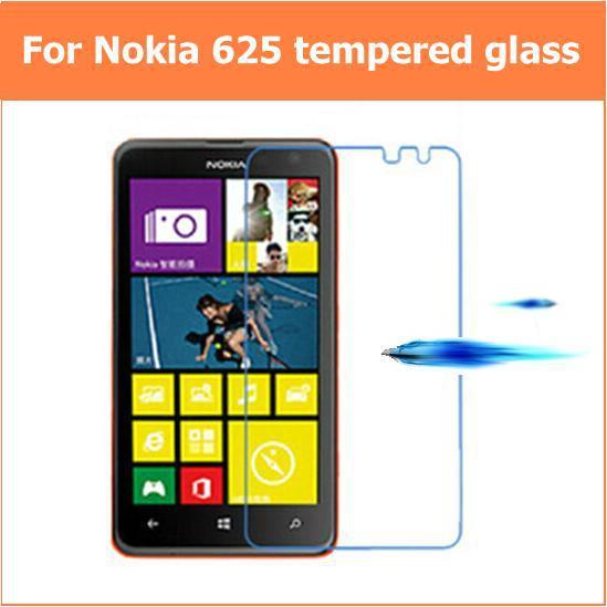 Für NOKIA Lumia 625 625h Premium gehärtetes Glas Anti-Splitter-LCD-Displayschutzfolien Schutz pelicula de vidro Ecran-Schutz