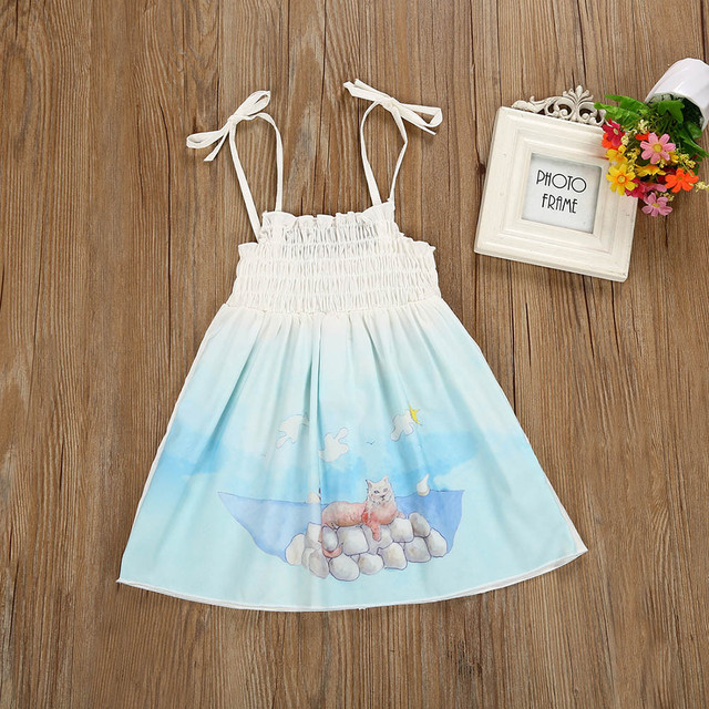 Girls dress 2019 summer