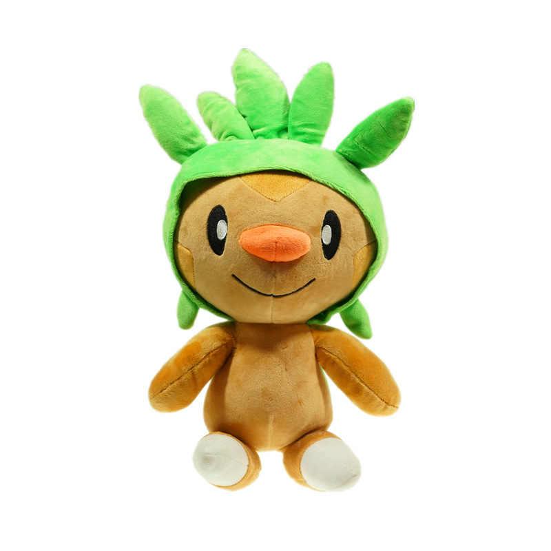 Anime Figuras Eevee Pelúcia Bulbasaur Charmander Squirtle Mudkip Chespin Plsuh Ação Figuras de Brinquedo Macio Pelúcia Boneca Animal