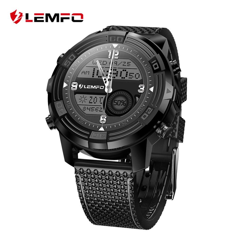 LEMFO LEM6 Smart Montre Smartwatch 1 GB + 16 GB Montre Téléphone MTK6580 Smartwatch Étanche GPS Moniteur de Fréquence Cardiaque Bluetooth 3G