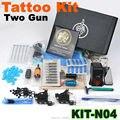 Chegada 1 conjunto de Kit de tatuagem Gun conjunto completo de equipamentos máquina 2015