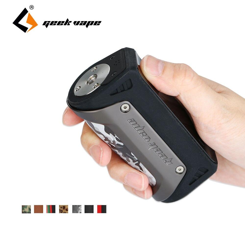 100 Оригинал 100% Вт GeekVape Aegis модель TC Fit 18650/26650 батарея водостойкий/противоударный/пылезащитный мод GeekVape Aegis коробка мод