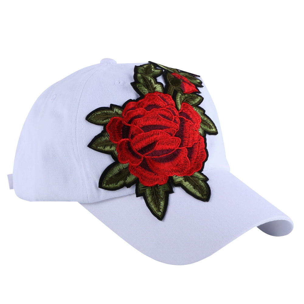 hot wholesale women brand hat girl fashion baseball cap pink fuchsia white cotton denim casual summer woman hats floral snapback sute wholesale new fashion cap summer fall cotton casual snapback hat for men baseball cap women usa embroidered cotton hat