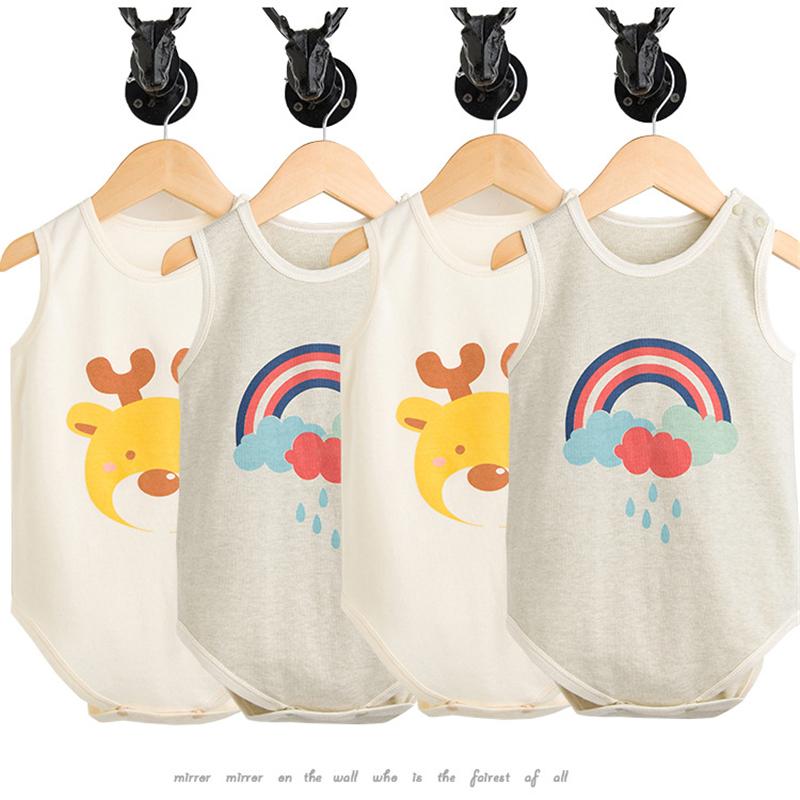 HTB1NigzqOFTMKJjSZFAq6AkJpXag - 2 Pcs/set Baby bodysuit Baby girl boy clothes for newborn Organic cotton baby clothing children christmas jumpsuit sleepwear