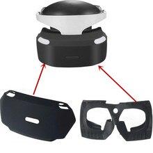 الداخلية خارج واقية سيليكون الحرس التفاف تعزيز عيون غطاء للحماية ل بلاي ستيشن PSVR PS VR ثلاثية الأبعاد الزجاج عرض