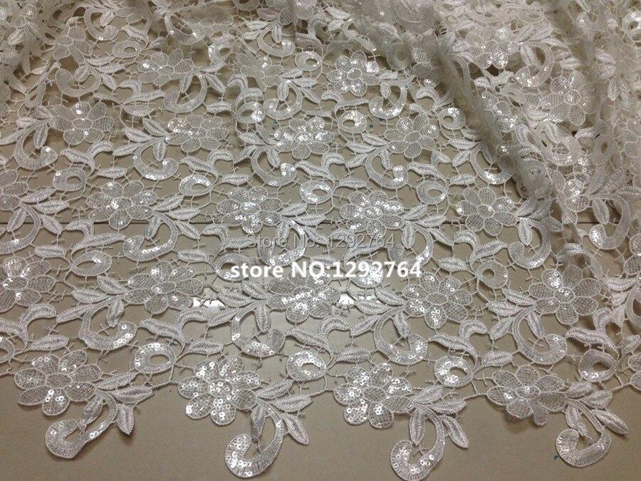 Acquista all'ingrosso online bianco con paillettes tessuto da ...
