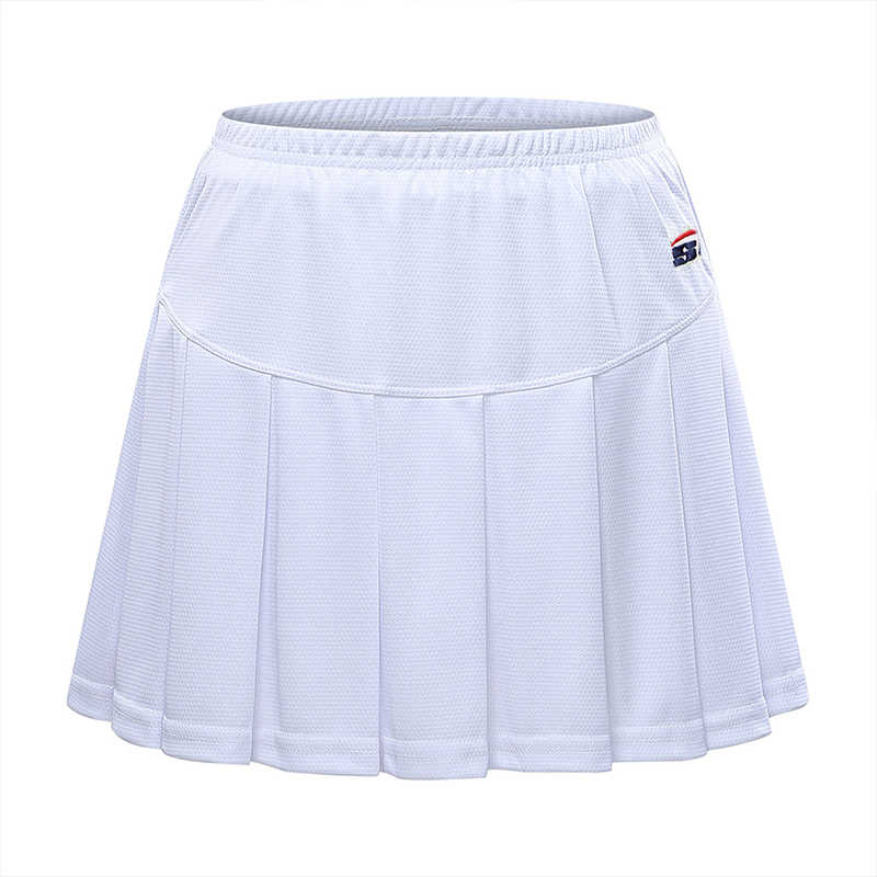 Badminton Wear lato damskie owalne spodnie damskie spódnica spodnie szczupła oddychająca fałszywy dwuczęściowy spódnica tenis sport spódnica