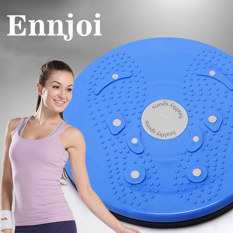 0.41kg Magnetic Wriggled Plate Waist Reduction Bodytwister Foot Massage Twist Plate Twist Boards Firm Thicker