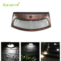 Solar Lamp 4 LED Control Lights Solar Wall Lamp Staircase Lights Outdoor Garden Lights u70718