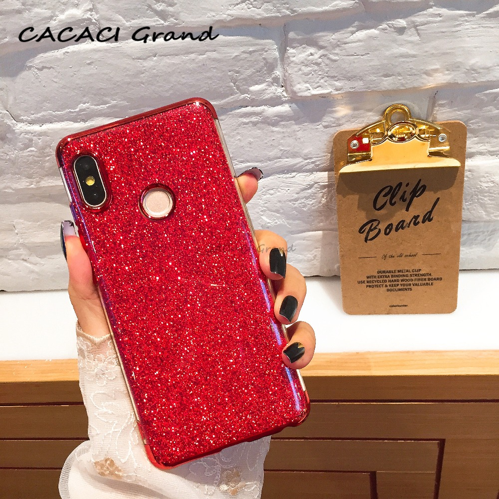 Bling Case For xiaomi 5X 6X A1 A2 Lite 6 8 SE Max 3 MIX 2S Redmi S2 4X 5A 5 Plus 6 Pro 6A for Redmi NOTE 4 4X 5A 5 Pro 6 Cover