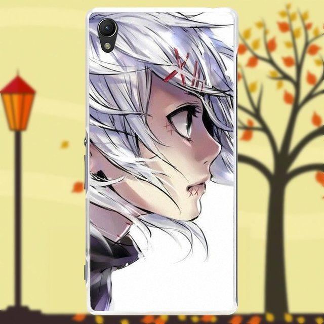 Kaneki Ken Tokyo Ghouls Phone Case For Sony Xperia Z Z1 Z2 Z3 Z4 Z5 compact Mini M2 M4 M5 T3 E3 XA