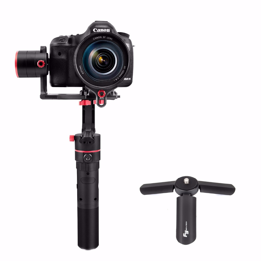 FeiyuTech Feiyu a2000 3-Axis Gimbal Stabilizer for Canon 5D Series, SONY A7 Series a6500, Panasonic GH4/GH5 250-2000g Cameras beholder ds1 3 axis handhled gimbal stabilzier for canon 5d 6d 7d dslr gh4 gh7 nikon d810 d800 dmc sony a7 nex series